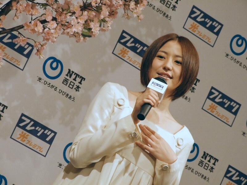 長澤まさみ 2018 桜 2