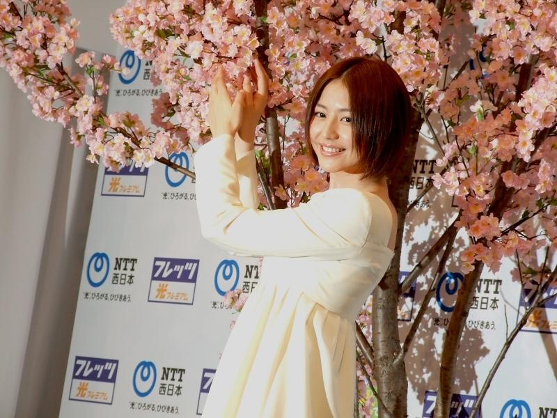 長澤まさみ 2018 桜