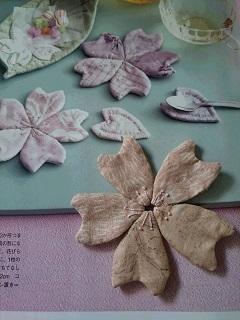 桜の花びらコースター&3.11
