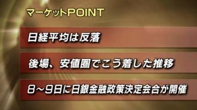3月07日_東京マーケット大引け01