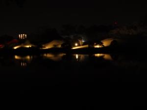水前寺公園ライトアップ
