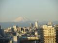 板橋区より富士山