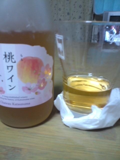 シャトー勝沼 桃ワイン