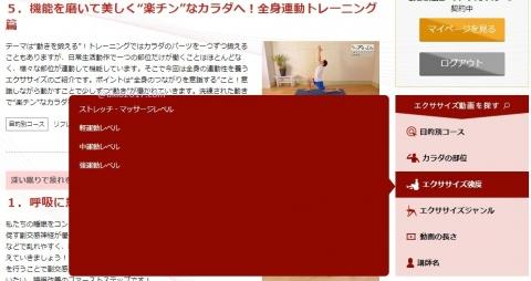 オンライン・エクササイズ動画配信 Fit-Libフィットリブ