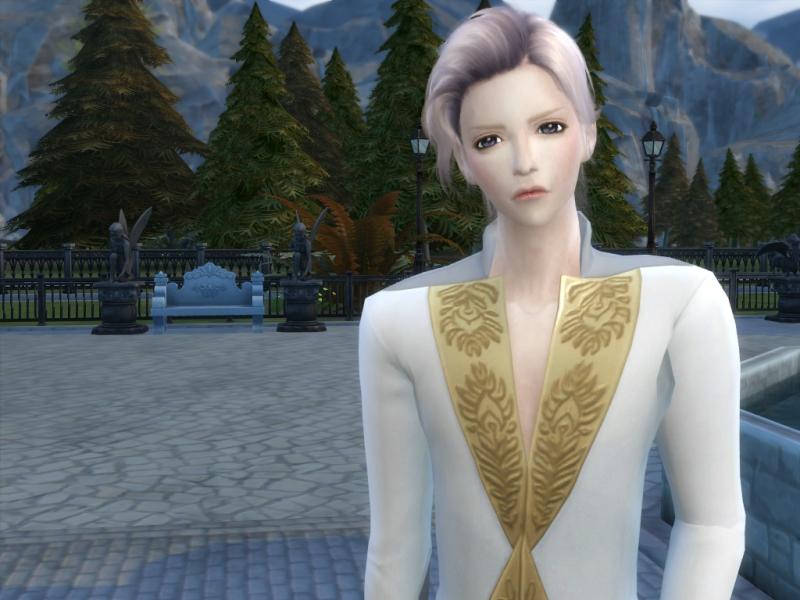 Sims4のスキンを作成しました。