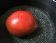 ブロッコリートマト 調理④