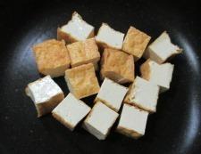 厚揚げピーマンの七味炒め 調理②