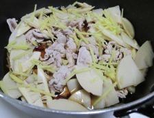 豚こまと筍のしぐれ煮 調理⑤