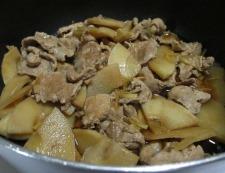 豚こまと筍のしぐれ煮 調理⑥