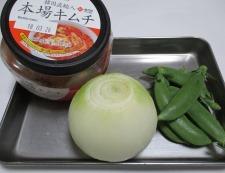 豚キムチ炒め 材料②