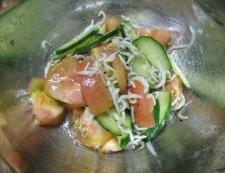 しらすトマト 調理②