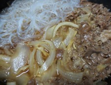 牛肉春雨 調理⑤