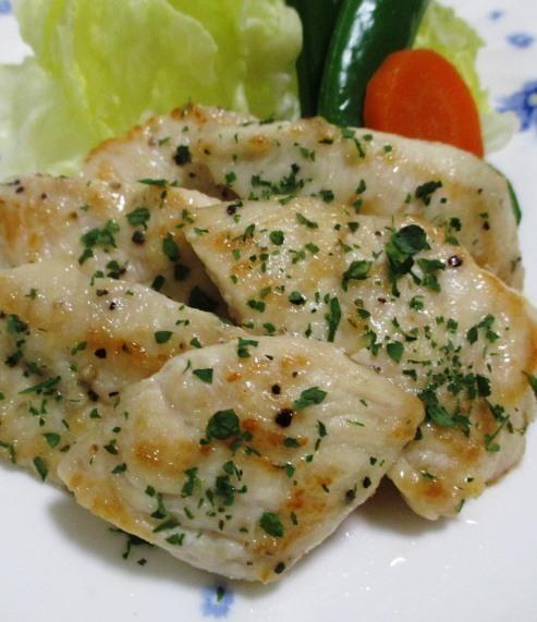 鶏むね肉のレモンペパーソテー B
