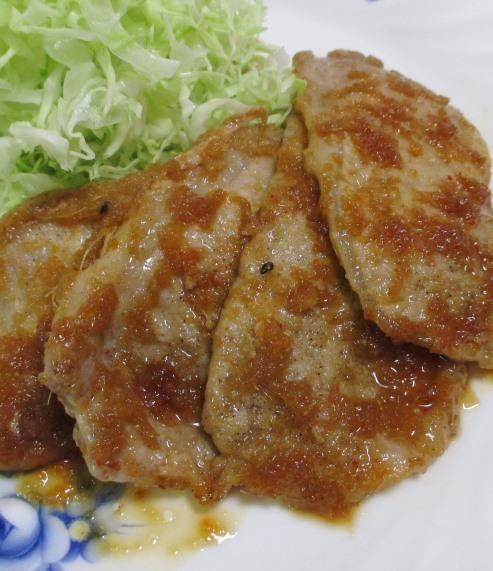 豚ロース七味しょうが焼き 拡大