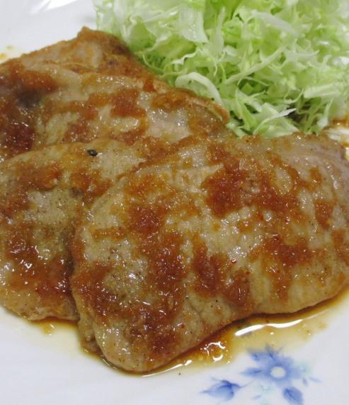 豚ロース七味しょうが焼き 大