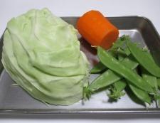コールスローサラダ 材料①
