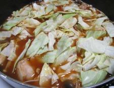 鶏もも肉のキムチスープ煮 調理⑤