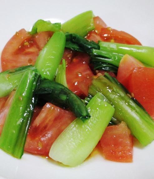 青梗菜トマト B