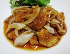 鶏皮照り焼き 調理④