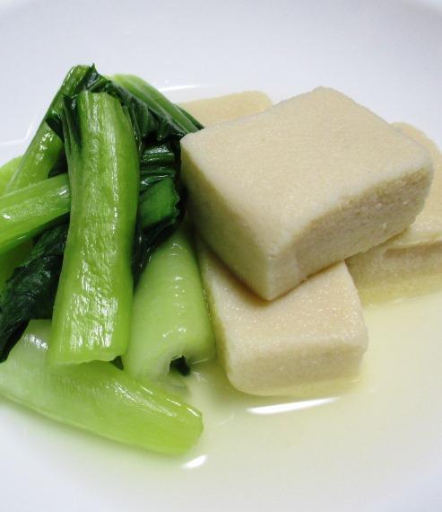 高野豆腐青梗菜 B