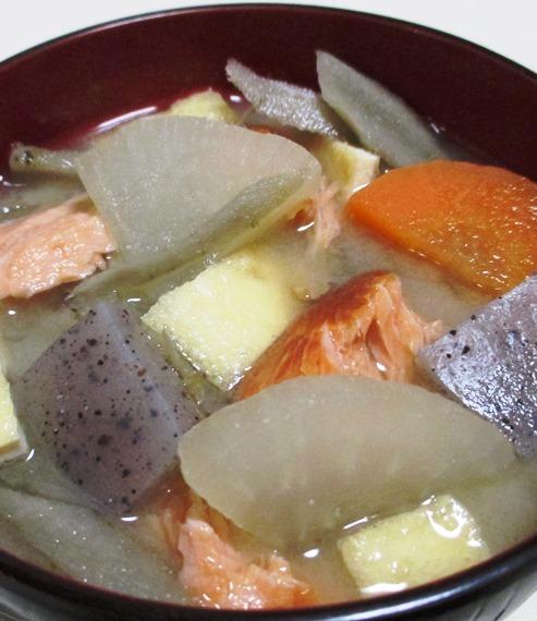 焼き鮭汁 大