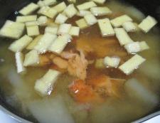 焼き鮭汁 調理②