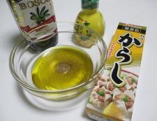 タコとキャベツ 調理②