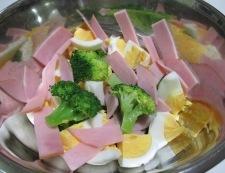 ブロッコリーのサラダ 調理①