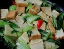 筍と絹揚げの旨コク炒め 調理④
