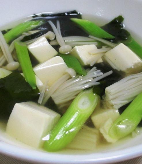 豆腐とわかめ B