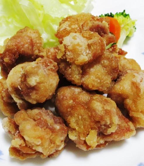 鶏もも肉の竜田揚げ B