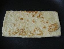 芹とお揚げ 調理①
