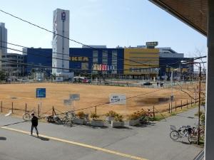 南舟橋駅のイケア到着!