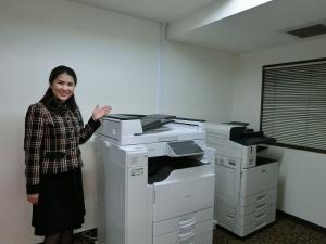コピー機は自慢です!