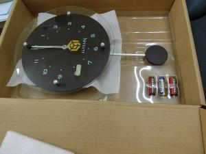 わぁ♪ロゴ入り時計!!