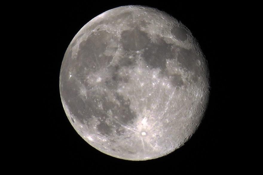 3月の月 (2)