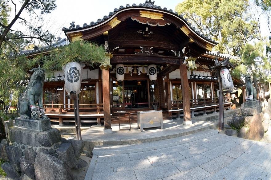 杭全神社・桜 (0)
