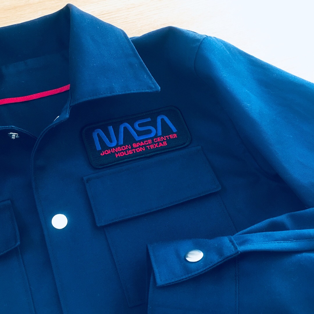 NASAワッペン作業服4