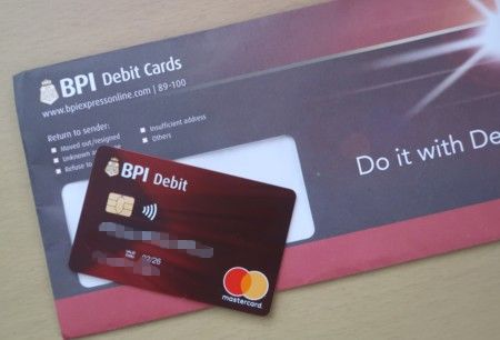 bpi emv debit card