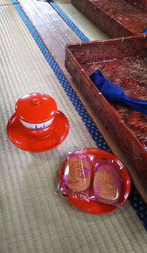 松山旅行 道後温泉お茶とお煎餅