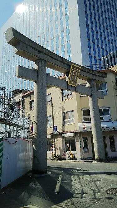 櫛田神社 一の鳥居