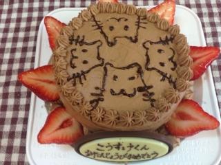 ハムちゃんケーキ