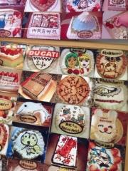 店のケーキ写真