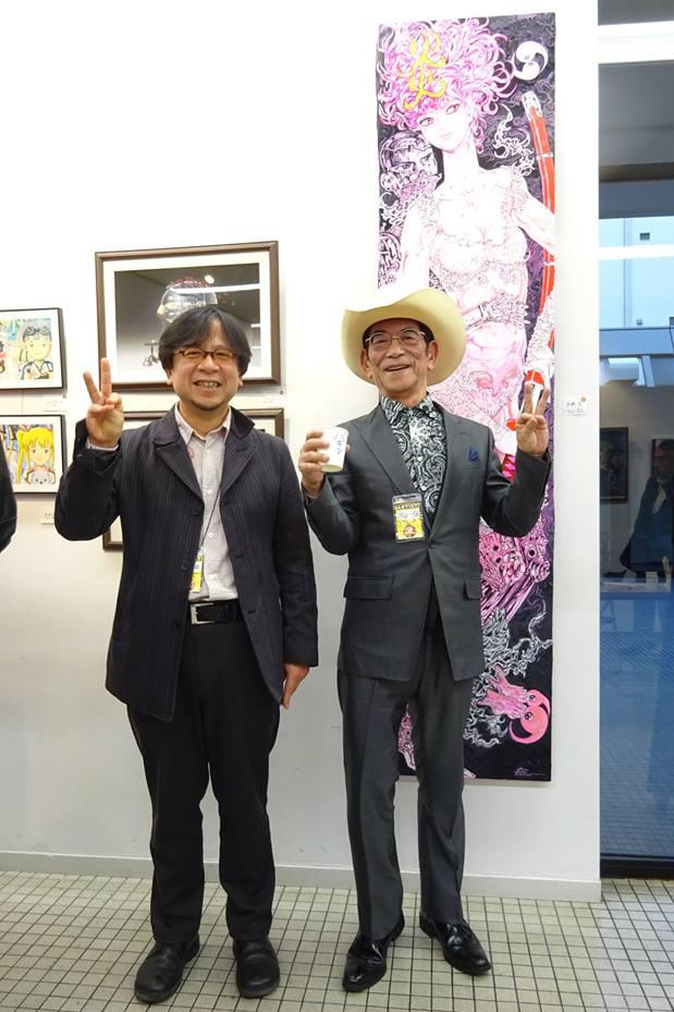 キャラクターアート展・バロン吉元・荒木慎司