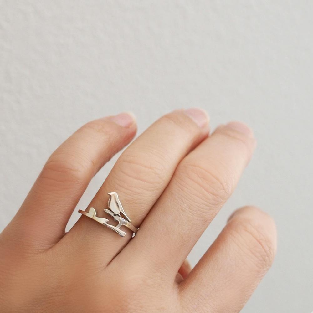 NEW☆ツバメのリングと小鳥のリング