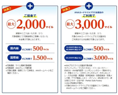 絶対お得なANA JCBカード(ソラチカカード)入会キャンペーン1