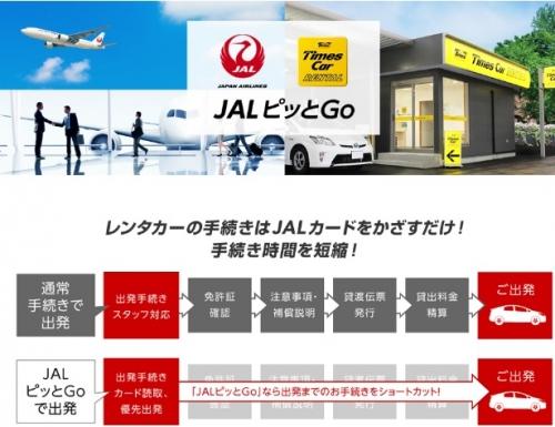 タイムズカーレンタル JALピッとGo ご登録キャンペーン