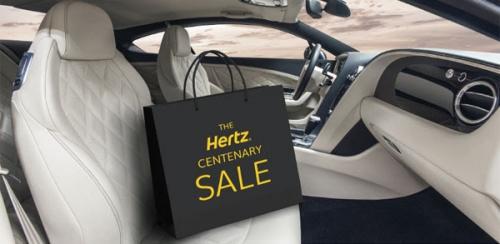 ハーツレンタカー100周年記念セール