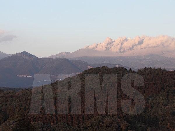 新燃岳の噴火の画像 霧島連山