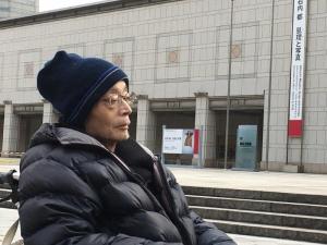 横浜美術館前